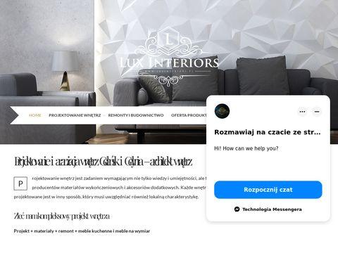 Luxinteriors.pl meble