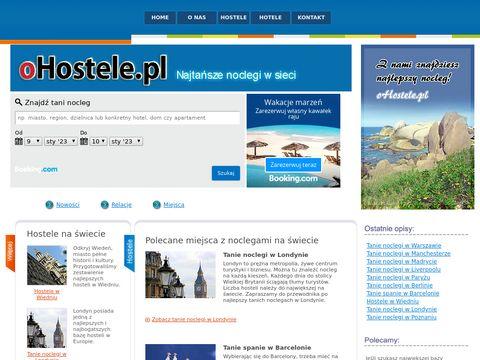Tanie noclegi oHostele.pl