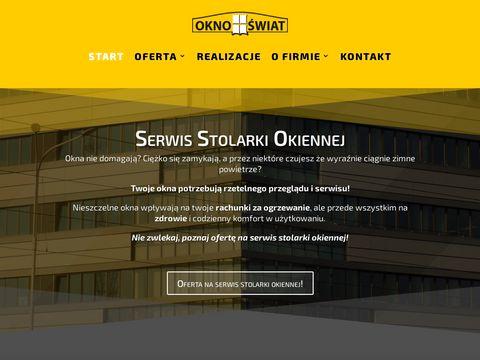 Oknoswiat.pl okna PCV aluminiowe drewniane