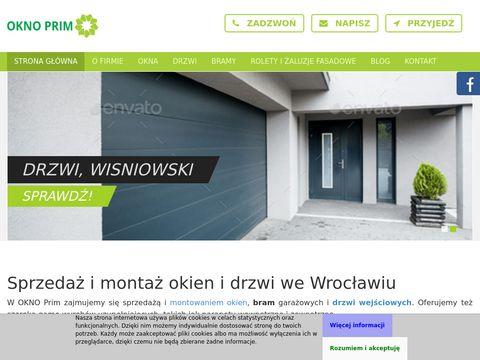Oknoprim.com.pl Aluhaus Wrocław