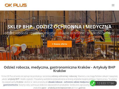 Ok-plus.pl rękawice i obuwie ochronne Kraków