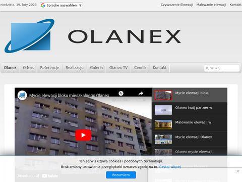 Olanex - mycie i malowanie elewacjj