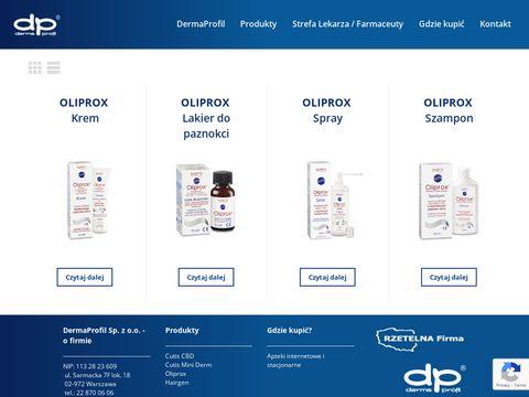 Oliprox.pl preparaty przeciwłupieżowe i przeciwgrzybicze