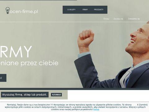 Ocen-firme.pl - opinie o firmach i sklepach