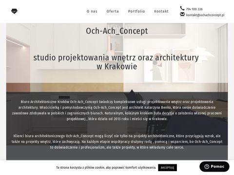 Ochachconcept.pl projektowanie wnętrz Kraków