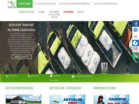 Eko-Bio szamba ekologiczne Łódź