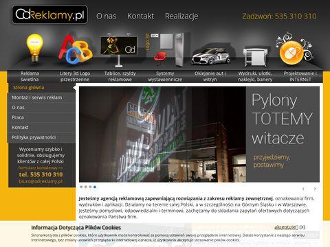 Odreklamy.pl szyldy reklamowe