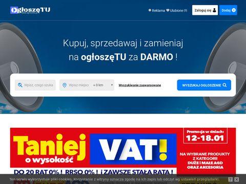 Ogloszetu.pl dodaj darmowe ogłoszenia