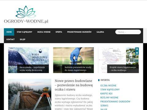Ogrody-wodne.pl staw kąpielowy