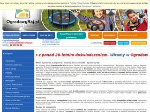 Ogrodowyraj.pl Wyposażenie ogrodu