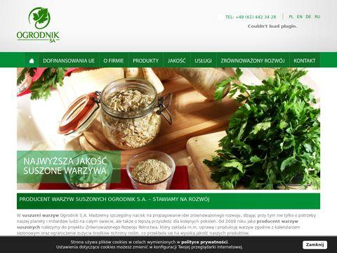 Ogrodnik s.a. - suszarnia warzyw