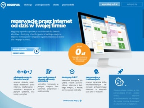 Oferta.reservis.pl program do umawiania wizyt