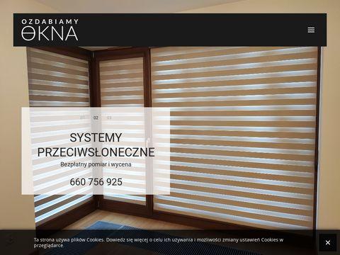 Ozdabiamyokna.pl - osłony okienne