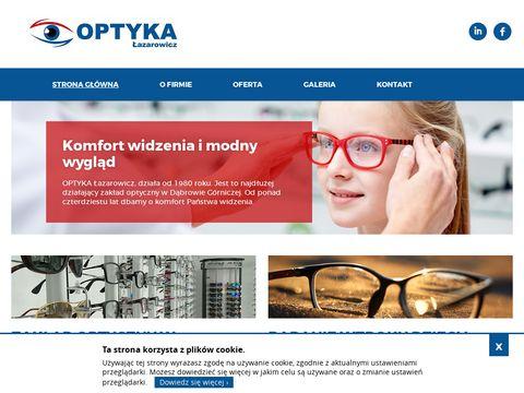 Optykdg.pl Łazarowicz soczewki kontaktowe
