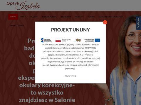 Optykizabela.pl salon optyczny Białystok