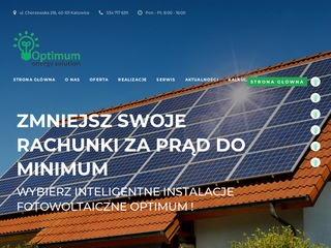 Optimumfotowoltaika.pl panele słoneczne