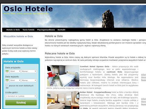 Hotele w Oslo