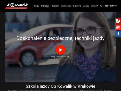 Oskowalik.pl nauka jazdy Czyżyny