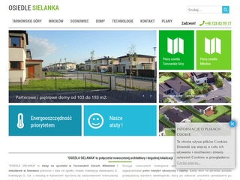 Osiedlesielanka.pl - domy Tarnowskie Góry