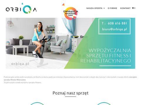 Orbiqa.pl - wypożyczalnia rehabilitacyjna