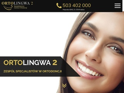 Ortolingwa2.pl ortodonta Kraków