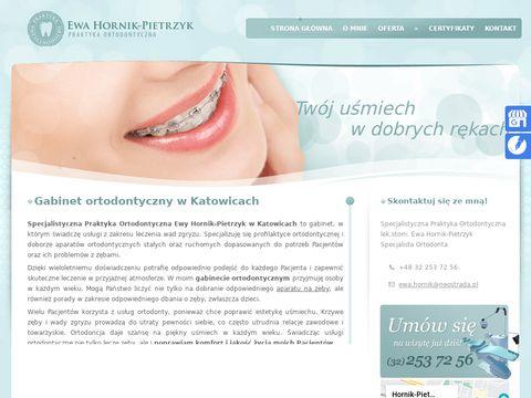Hornik-Pietrzyk Ewa Katowice ortodonta