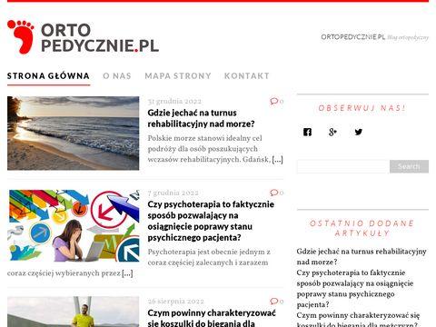Ortopedycznie.pl - serwis o ortopedii
