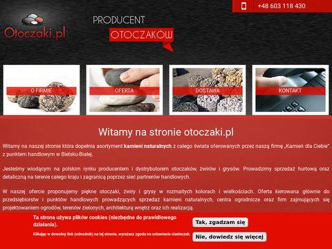 Otoczaki.pl hurtownia otoczaków