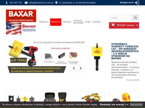 Otwornice.com.pl otwornica do stali nierdzewnej
