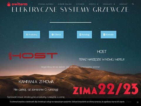 Owiterm.pl ogrzewanie rurociągów przemysłowych