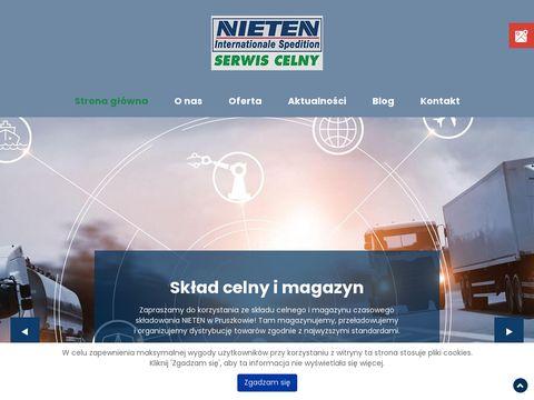 Nieten.net.pl serwis celny Warszawa