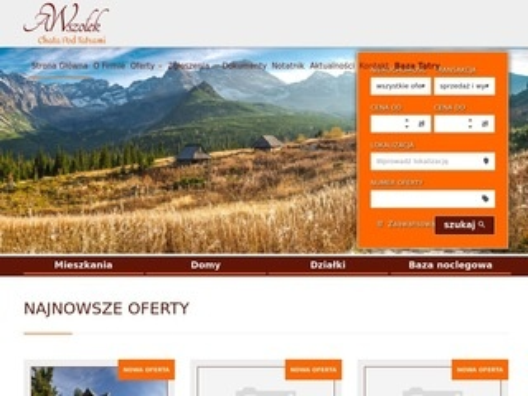Nieruchomoscizakopane.com.pl