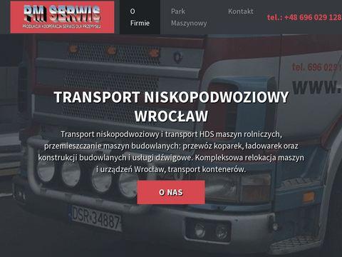 Niskopodwoziowy.pl relokacja maszyn