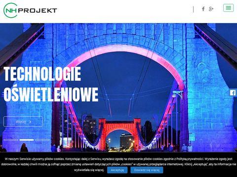 Nhprojekt.pl oświetlenie sceniczne