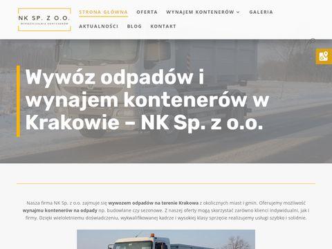 Nkkontenery.pl na gruz Kraków