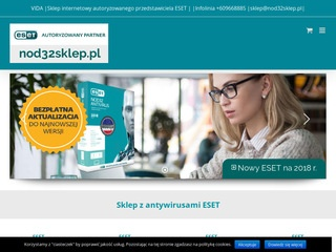 Nod32sklep.pl - oficjalny partner Eset
