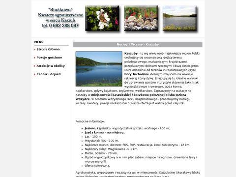 Noclegi.kaszuby.org kwatery prywatne na Kaszubach