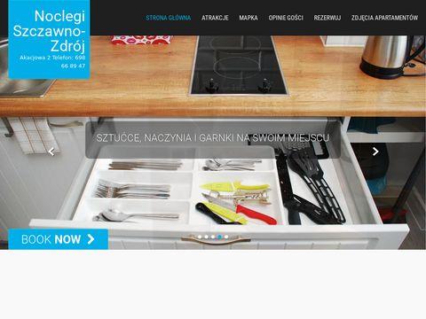 Nocleg-szczawno.pl pokoje gościnne