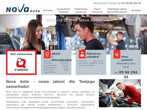 Nova-auto.pl - mechanik Białystok