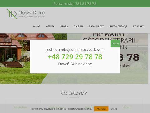 Nowy-dzien.pl ośrodek leczenia uzależnień