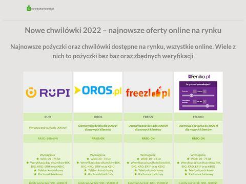 Nowechwilowki.pl aktualny ranking 2017
