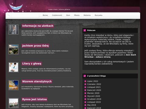Nowachatawroclaw.pl natrysk piany pur