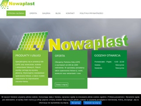 Nowaplast producent folii LDPE Kłodzko