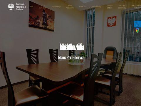 Notariuszgdansk.net.pl akty notarialne