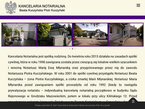 Kancelaria notarialna Sp. P. notariuszegrodzisk.pl