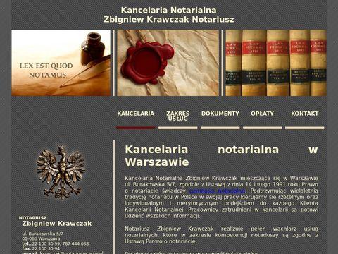 Krawczak Zbigniew Kancelaria Notarialna