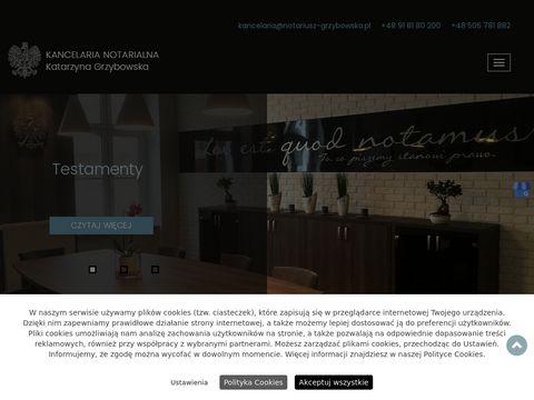 Notariusz-grzybowska.pl
