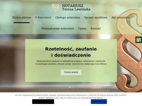 Notariusz-lewinska.pl