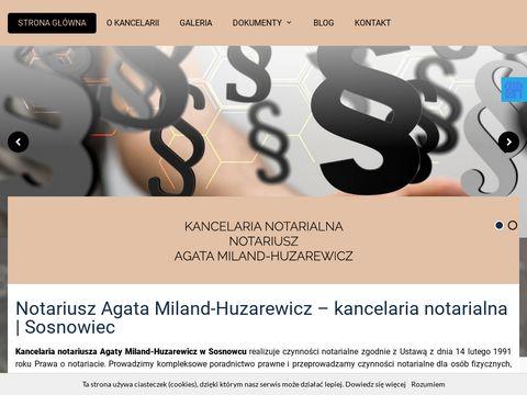 Notariusz-zsosnowca.pl