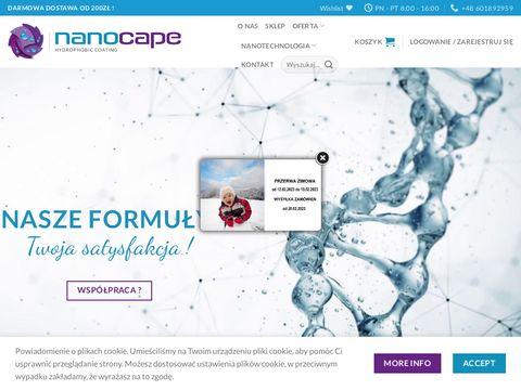 Nanocape - hydrofobizacja